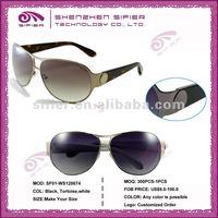 2013 Latest New Style Fashion Popular Classic Metal Sunglasses For Men