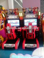 Video racing game 32' LCD Speed driver racing simulator video game machine