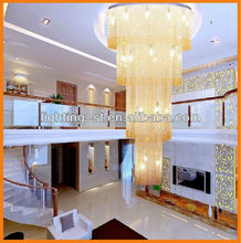 modern led chandelier / large crystal chandeliers for hotel/luxurious crystal chandelier