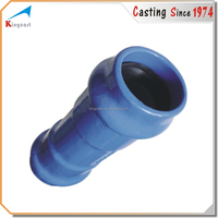 """Casting with cast iron pipe 6"""" inch"""