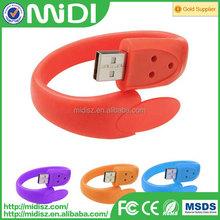 Cheap! Promotional Advertising bulk 1-128mb usb flash drives Mobile Internet Usb Slap Bracelet