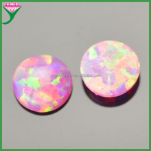 Wholesale price synthetic round cabochon loose opal gemstone