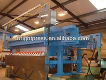 Program Controlled Auto1500 Membrane Filter Press with Cloth Wash System And Drip Tray