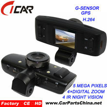 120 degree FULL HD 1080P 1.5 inch mini Spy car accident DVR best night vision GPS HD Vehicle DVR Camera Recorder