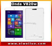 IN stock 8.0'' IPS 1280*800 ONDA V820W dual boot Intel Z3735F Quad Core Win8.1 tablets pc 2GB RAM 16G/32G ROM BT4.0 4200mAh