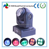 Newest!!! Double-face Endless Rotating Beam & Wash 2in1 Mini LED Moving Head And Price