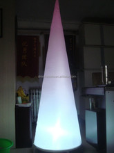 decorative lighting inflatable columns, inflatable pillar for advertising/ decoration