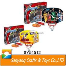 Indoor sport toys kids mini plastic basketball hoop for sale