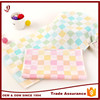 Factory supply plain cloth small handkerchief hand towel