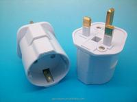 ADAPTOR UK 13A MALE TO EUROPEAN plug