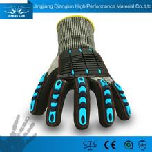 Golden fornitore per guanti di sicurezza con dorsale impatto- la riduzione guanti