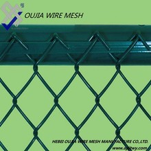 2015 new product Hot Dipped Galvanized Chain Link Fence /PVC Coated Chain Link Wire Mesh/Chain Link Fencing-Factory Price