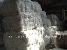 White Flat High Tenacity 100% Polyester Yarn Waste