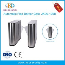 Landscape Access Control System Retractable Flap Barrier,Flap Turnstile,Wing Gate,Subway Gate
