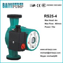 silent hot water circulation pump, boiler water circulation pumps, wilo type pump RS25/4-180