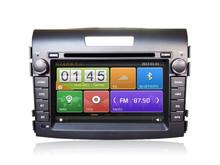 touch screen car radio dvd player for Honda CR-V 2012 GPS navigation system