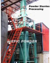 Superfine Mineral Powder Slurry Vertical Stirred agitated Ball Mill