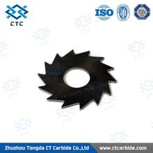Professional yg6 tungsten carbide solid saw blades for cutting tools