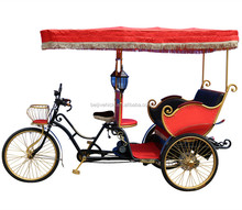 Beiji brand sightseeing danish electric cycle rickshaws for sale