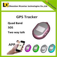 China Supplier Mini Children GPS Tracker Necklace GPS Check Address Via Smart Phone With Real Time Tracking