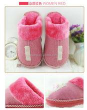 Cartoon Bear Indoor Fluffy Slipper Boots footwear industry