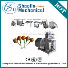The Most Novel heart shape lollipop forming/cooling/packing machine with best service