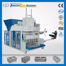 QMY12-15 mobile concrete hollow block making machine china