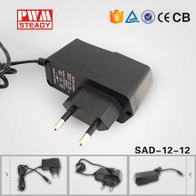 ac adaptor ac 230v dc 12v Wallmount charger DC output digital photo frame power adapter