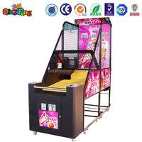Qingfeng funny basketball arcade game machine basketball shooting machine on sale