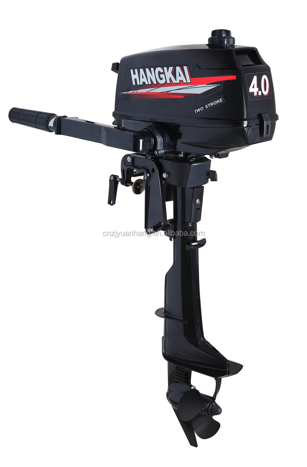 wholesale price 4hp outboard motor with tiller control