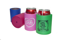 Colorful Rubber foam Can Cooler Can holder