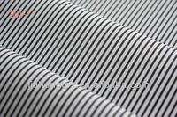 Cotton stripe yarn dyed fabric for men's shirt