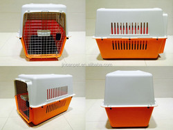 eco-friendly material pet carrier /cage/case for traveling & filght & outdoor