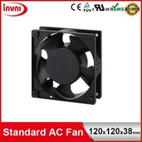 Standard SUNON 120mm Mini 120x120 Small Exhaust Axial Flow 12038 AC Cooling Fan 110V 100V 115V 120x120x38 mm (SP102A 1123MBT.GN)