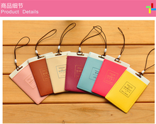 J201 wholesale candy color hotel fashion custom travel luggage tag