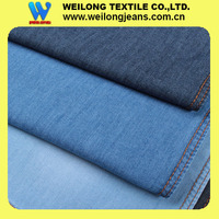 B30781-4G-A buy jean fabric 100% cotton denim fabric light weight 5.5oz with slub effect for summer
