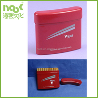 cigarette packing tin box keep shape and dry durable material custom logo