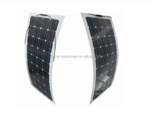 2015 high efficiency 110w flexible solar panel with full certificates