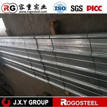 Raw Material for zinc 40 chromated galvanized sheet metal roofing price