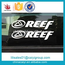 Die cut 3m Removable Water proof UV protection Eco-friendly Vinyl sticker for Car Decoration