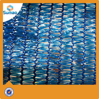 85% Shade Rate blue Color Outdoor Sun Shade Net manufacturer