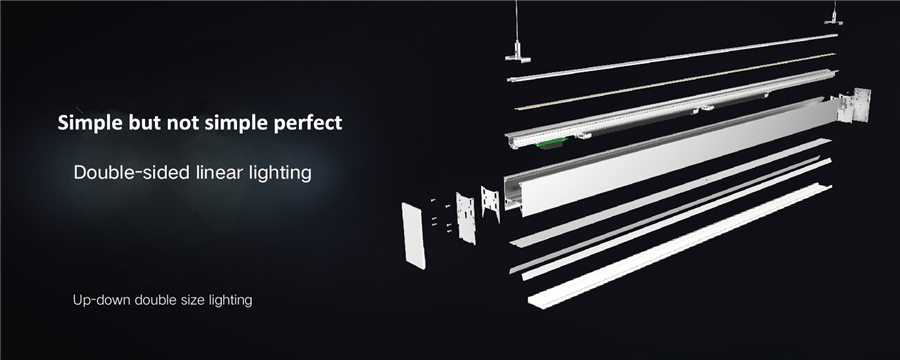5 Year Warranty Industrial Linear LED Light for Workshop emergency exit lights