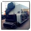 Low cost manual coal fired water tube hot water boiler