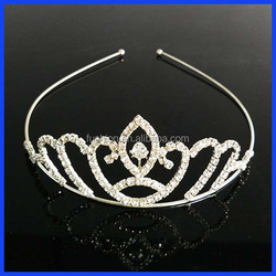 Hot selling top quality factory price princess crown for girls
