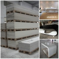 LG acrylic solid surface sheets/Corian artificial stone/Acrylic marble stone