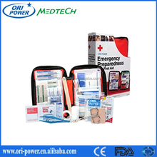 New OP OEM manufacture CE ISO FDA approved promotional first aid road trip sports bag/first aid travelling bag
