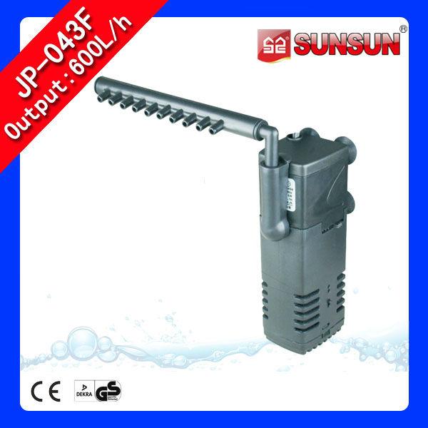 Sunsun 600l h aquarium internal filter pump jp 043f view for Aquarium 600l
