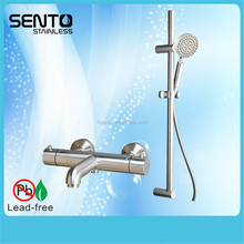 fashionable bathroom rain shower faucet temperature control