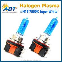 led bulb ce rohs h15 7500K 12V 55W Plasma Halogen bulb led fog lights