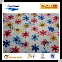 2015 cotton spandex printed fabric wholesale china cross twill